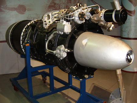 BMW-003A axial flow turbo jet engine