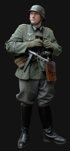 Grossdeutschland Leutnant on the Estern Front - neil barlow