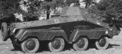 Sd.Kfz.231 (8 Rad) Heavy Armoured Reconnaissance vehicle
