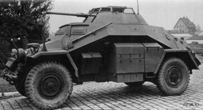 Sd.Kfz.222 mid production variant (4 Rad)